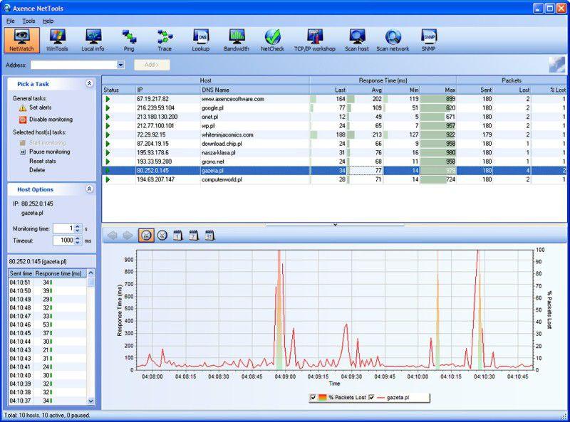 Vorschau Axence NetTools - Bild 1