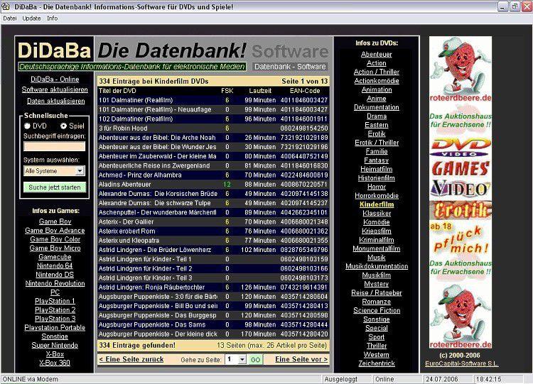 Vorschau DiDaBa - Die Datenbank - Bild 1