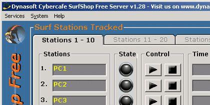 Vorschau Dynasoft Cybercafe SurfShop Free - Bild 1