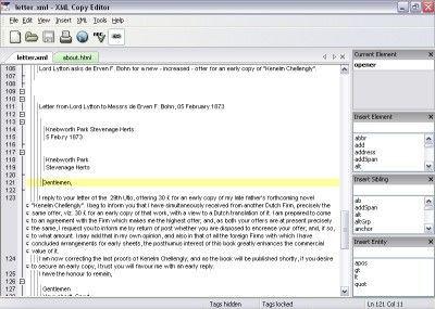 Vorschau XML Copy Editor - Bild 1