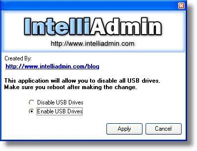 Vorschau USB Drive Disabler - Bild 1
