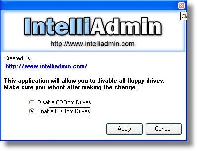 Vorschau CD ROM Drive Disabler - Bild 1