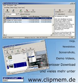 Vorschau ClipMem Advanced - Bild 1