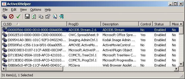 Vorschau ActiveXHelper - Bild 1