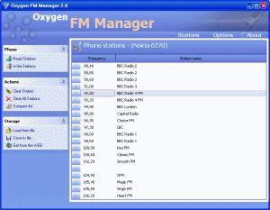 Vorschau Oxygen FM Manager - Bild 1