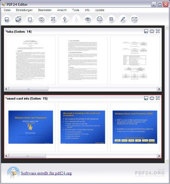 Vorschau PDF24 Creator - Bild 1