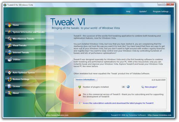 Vorschau TweakVI Basic - Bild 1