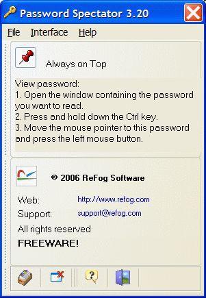Vorschau Password Spectator - Bild 1