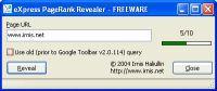Vorschau eXpress PageRank Revealer - Bild 1