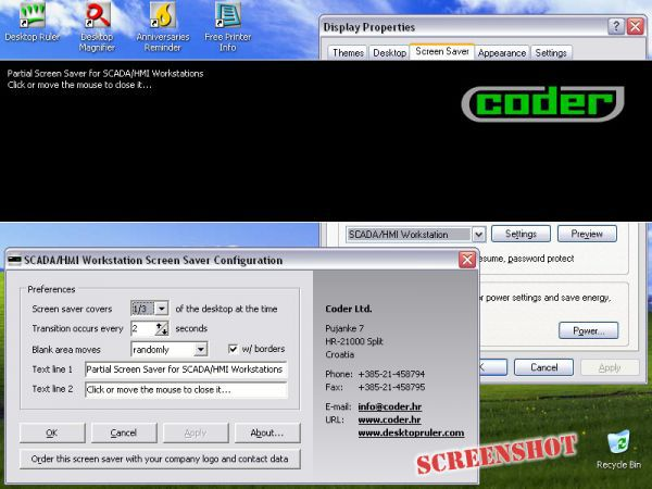Vorschau SCADA-HMI Workstation Screen Saver - Bild 1