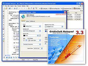 Vorschau GridinSoft Notepad Lite - Bild 1