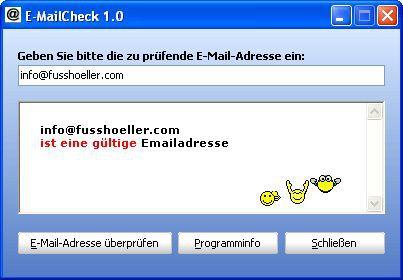 Vorschau E-MailCheck - Bild 1
