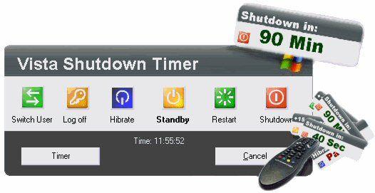 Vorschau Vista Shutdown Timer - Bild 1