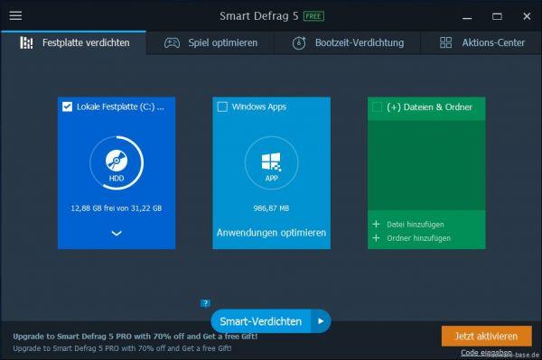 Vorschau IObit Smart Defrag - Bild 1