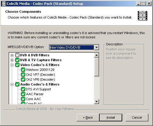 Vorschau Codec Pack - Standard - Bild 1
