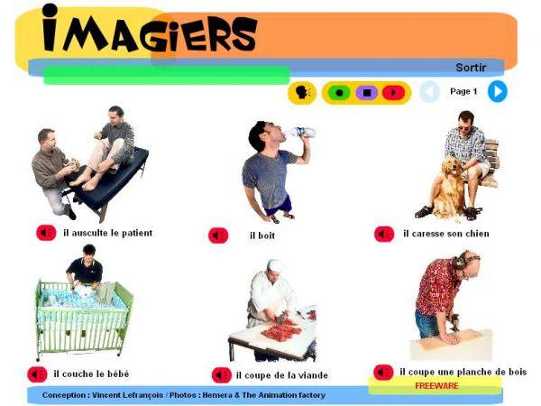 Vorschau Imagiers - Learn French - Bild 1