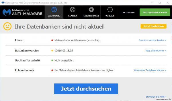 Vorschau SUPERAntiSpyware Free Edition - Bild 1