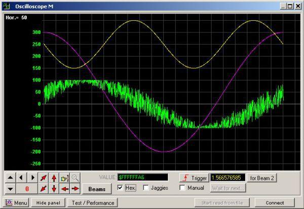 Vorschau Universal Software Oscilloscope Library - Bild 1