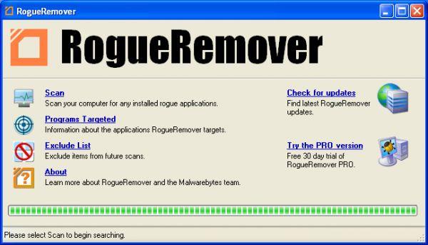 Vorschau RogueRemover FREE - Bild 1