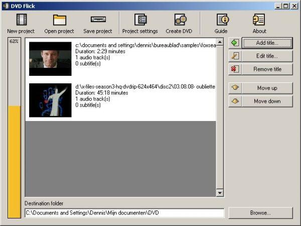 Vorschau DVD Flick und DVD Flick Portable - Bild 1