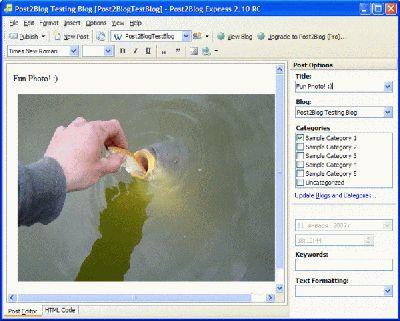 Vorschau Post2Blog Express - Bild 1