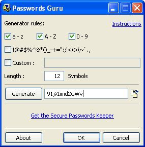 Vorschau Password Guru - Bild 1