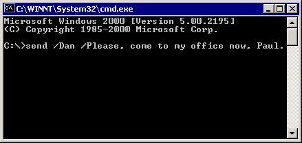 Vorschau Net-Send command - Bild 1