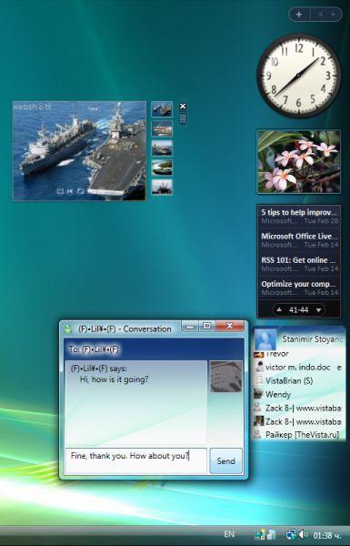 Vorschau Windows Sidebar Styler - Bild 1