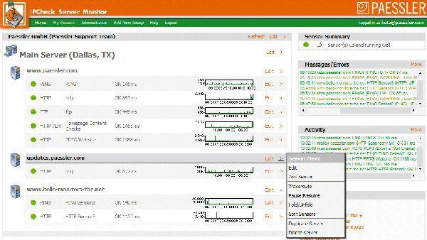 Vorschau IPCheck Server Monitor - Bild 1