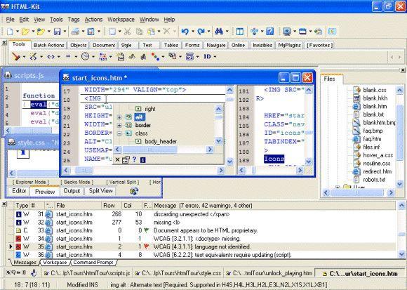 Vorschau HTML-Kit - Bild 1