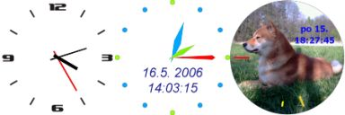 Vorschau Skinny Clock - Bild 1