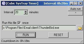 Vorschau SysTray Timer - Bild 1