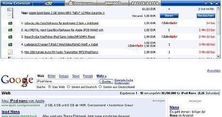 Vorschau Home Extension Firefox - Bild 1