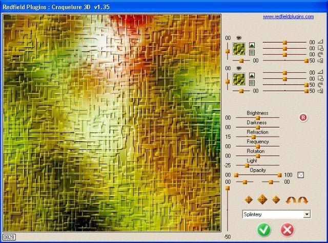 Vorschau Craquelure 3D plug-in - Bild 1