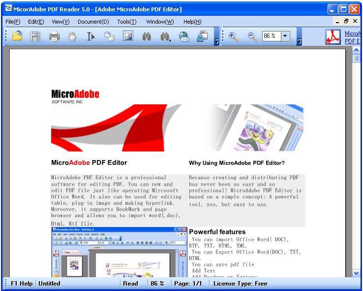 Vorschau Abdio PDF Reader - Bild 1