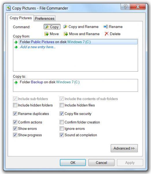 Vorschau File Commander - Bild 1