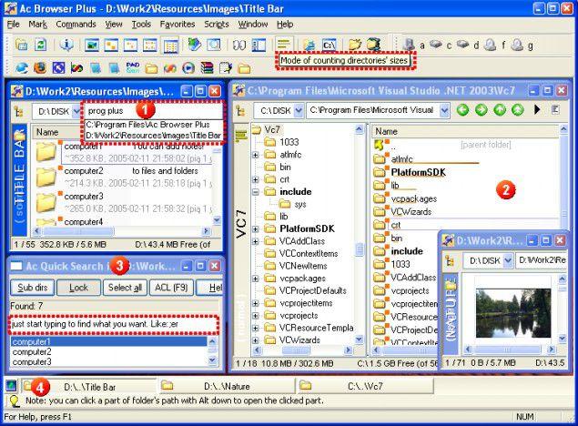 Vorschau Ac Browser Plus Free Edition - Bild 1