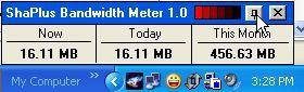 Vorschau ShaPlus Bandwidth Meter - Bild 1