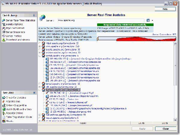 Vorschau HSLAB Free HTTP Monitor - Bild 1
