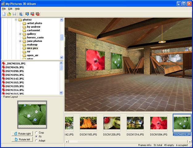 Vorschau My Pictures 3D Album - Bild 1
