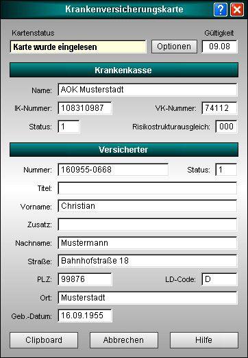 Vorschau KVK-Viewer Heilberufe - Bild 1