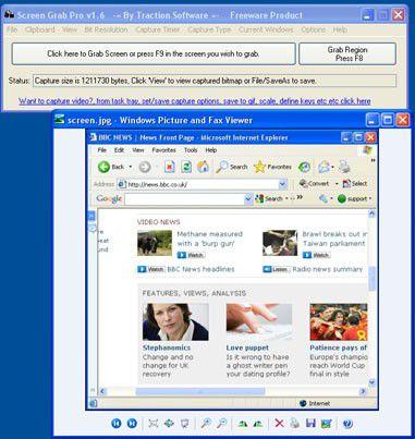 Vorschau Screen Grab Pro - Bild 1