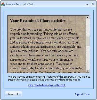 Vorschau Personality tests package - Bild 1
