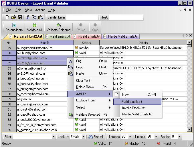Vorschau Expert Email Validator - Bild 1