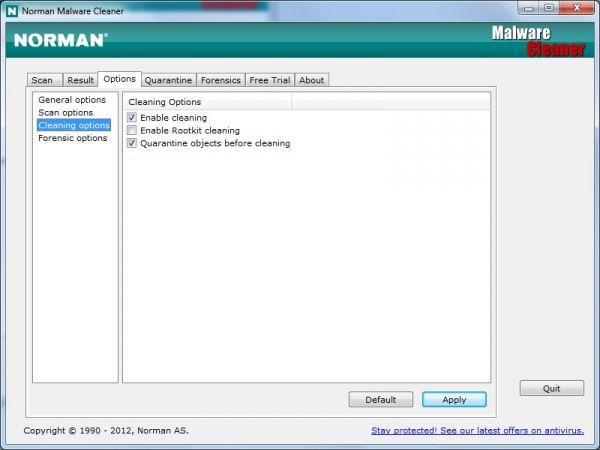 Vorschau Norman Malware Cleaner - Bild 1