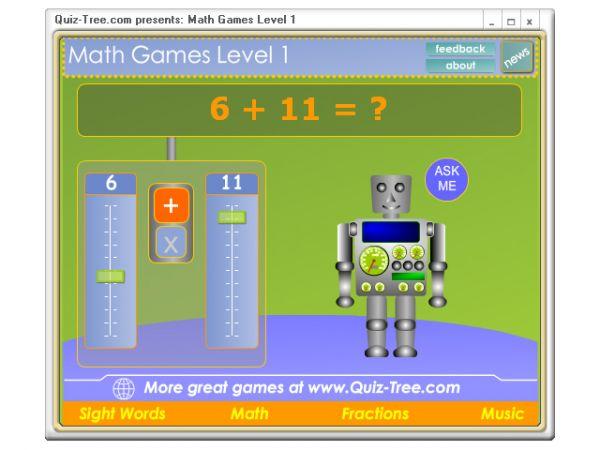 Vorschau Math Games Level 1 - Bild 1