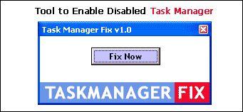 Vorschau Enable Task Manager - Bild 1