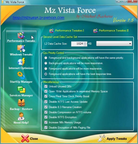 Vorschau Mz Vista Force - Bild 1