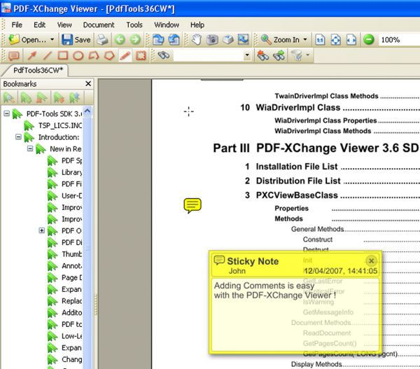 Vorschau PDF-XChange Viewer and Portable - Bild 1