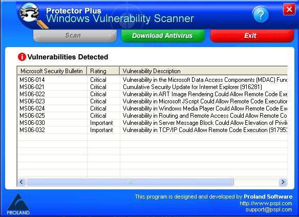 Vorschau Windows Vulnerability Scanner - Bild 1